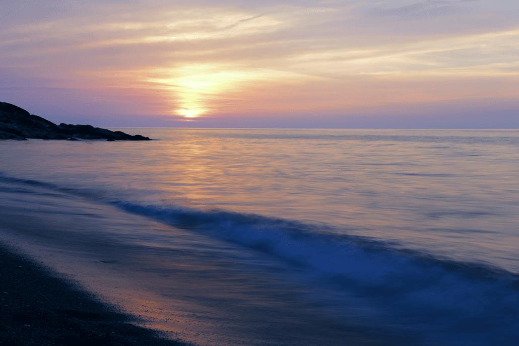 Akçakoca gün batımı